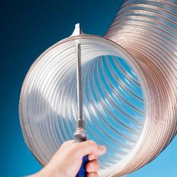 Rol (10m) flexibele afzuigslang voor CNC PU D=76