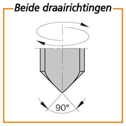 Drevelboor spits HWM S=10x25 =5x25x57.5