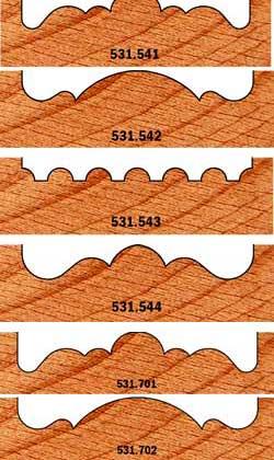 HW rozettenboor HW S=9.52 D=54 L=72.5 Profiel 4