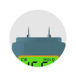 Set van 2 meetpinnen voor de digitale vochtmeter