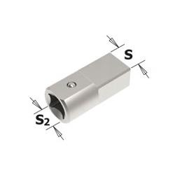 Koppeling voor momentsleutel 9 x 12mm