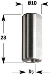 Verloopbus S=10x23 F=2.5