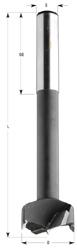 Cilinderkopboor HW S=13x50 D=60x140 Rechts